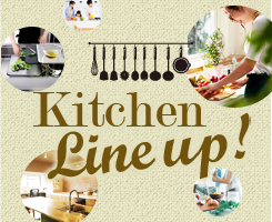 Kitchen Line up!