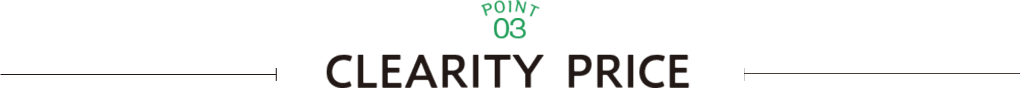 POINT03 CLEARITY PRICE